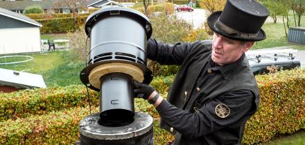 BlueChimney røgsuger med ebmpapst ventilator