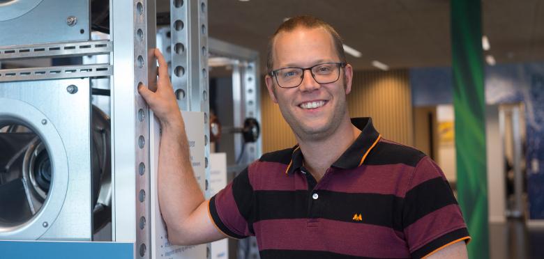 Produktchef Peter Lund Plechinger
