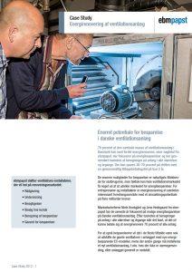 ebmpapst case energirenovering af ventilationsanlæg