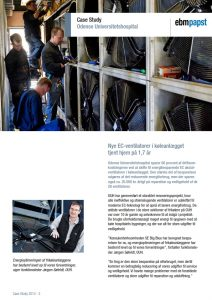 ebmpapst case Odense Universitetshospital frikølere