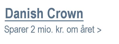Danish Crown sparer 2 mio. kr. om året med ebmpapst