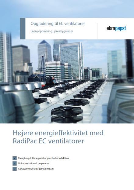 ebmpapst brochure - energioptimering med EC-ventilatorer